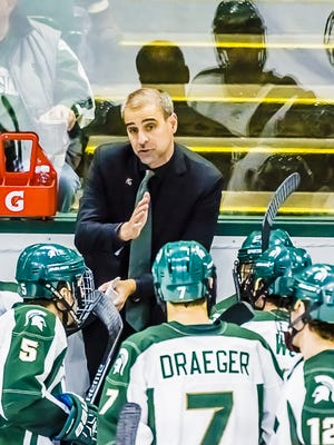 Tom Anastos stepped down Tuesday after 78 wins in six season as MSU's hockey coach.