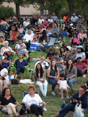 Music Under the Stars attracts thousands of fans each year to enjoy a variety of free music concerts.