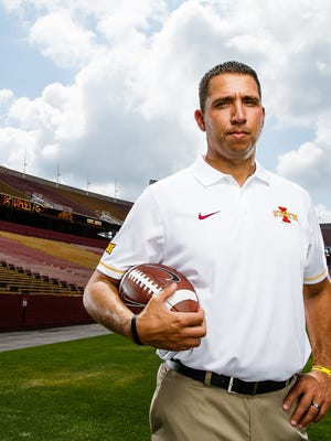 Matt Campbell enters his first season as the coach of the Cyclones.