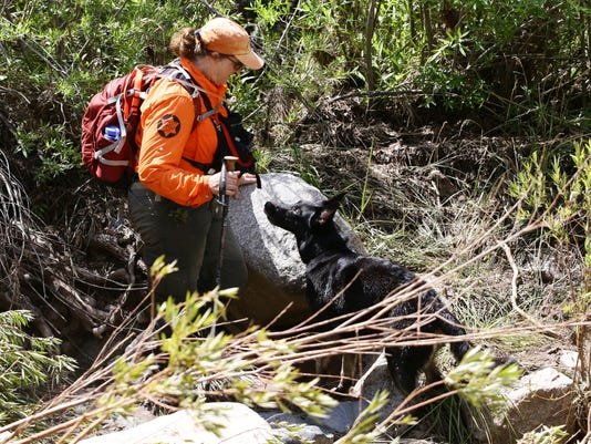 Rescue efforts northeast of Payson