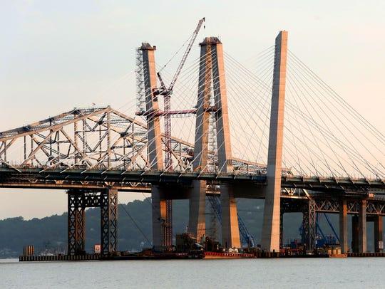 Governor Mario M. Cuomo Bridge and the Tappan Zee Bridge