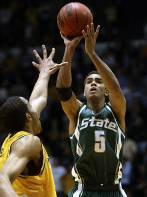 Chris Hill is second all-time at MSU in 3-pointers made, and holds the single-game record at 10.