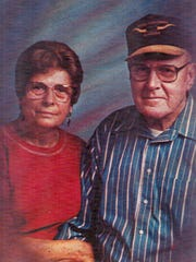 Lula Mae and Manning Tanner of Tulare were married