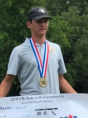 Crowell freshman Seth Bearden won the Class A State