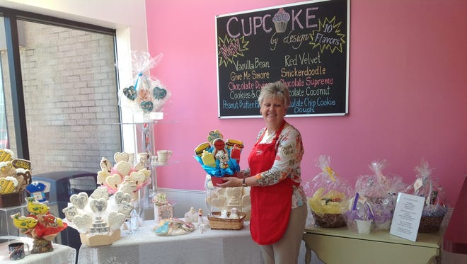 Bridgetown resident Dianne Brown takes over Cookies By Design, 9405 Kenwood Road in Blue Ash. The store specializes in hand-crafted 'cookie bouquets' and gourmet cookies.
