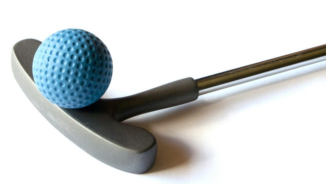 Mini golf will be a thing in downtown Appleton next month.