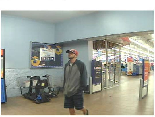 Police are looking for two men suspected of stealing