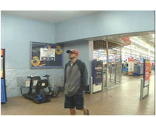 Police are looking for two men suspected of stealing from about 60 vehicles in five New Castle communities over the weekend.