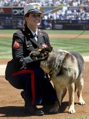 Former Marine Cpl. and Purple Heart recipient Megan