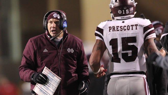 Coach Dan Mullen believes Dak Prescott is one of the best players in the country regardless of awards.