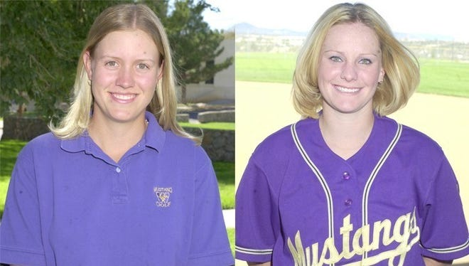 From left, Kristen Kennedy and Shellie Broyles-Raymond will be inducted into the WNMU Athletic Hall of Fame.
