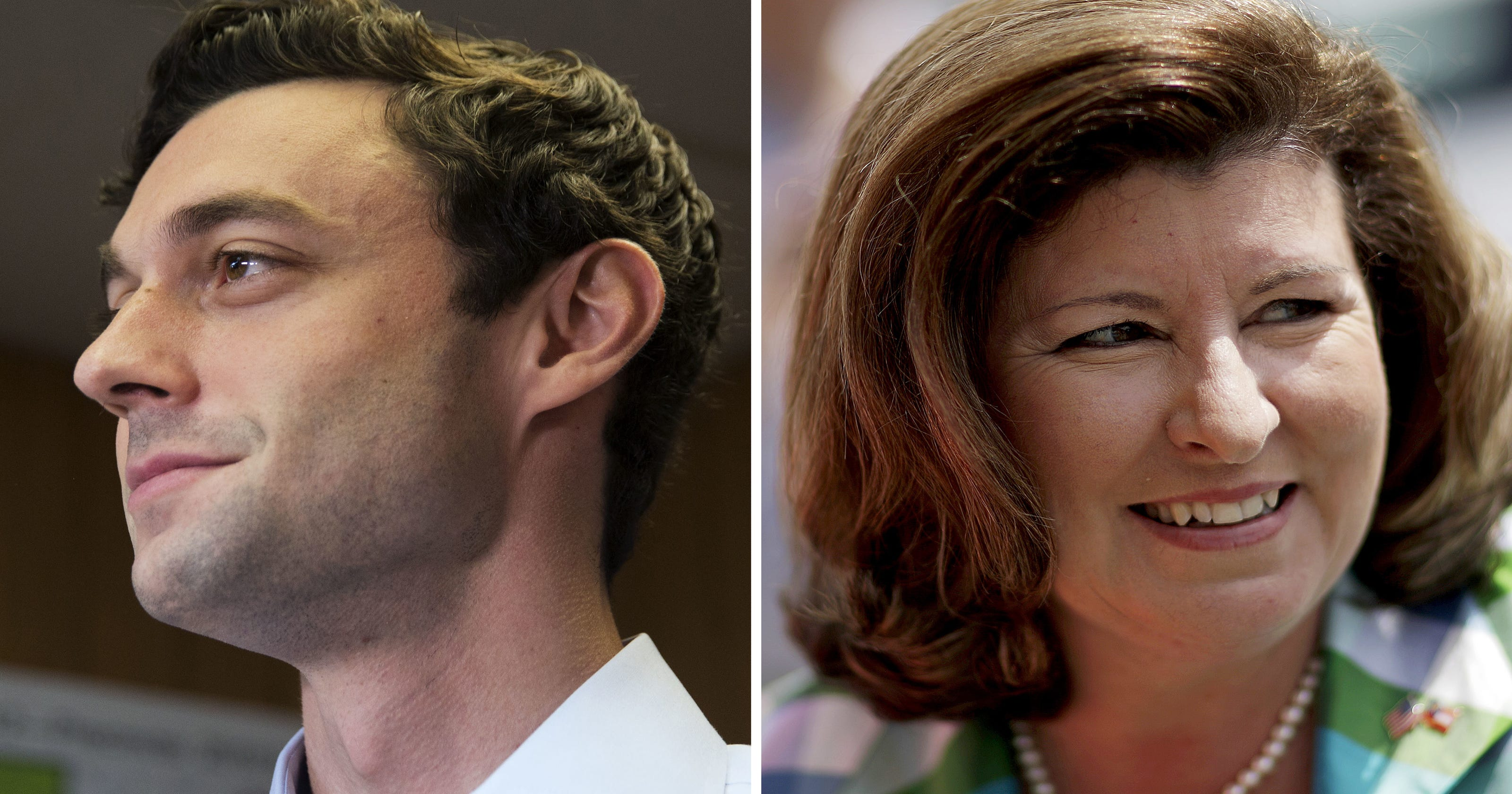 Jon Ossoff, Karen Handel face off in Georgia's special election