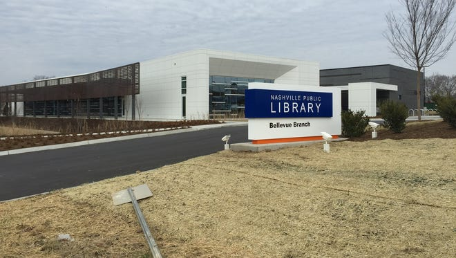 The new Bellevue Library.