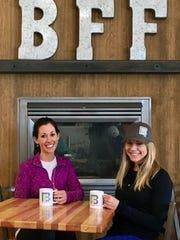 Jennifer Boscovich, left, and Gwen Sedler own BFF Café.