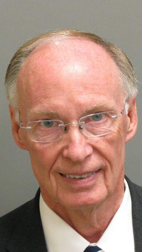 How Robert Bentley's mugshot stacks up to other famous