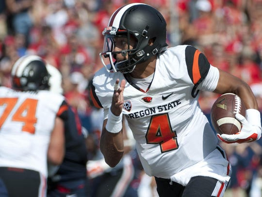 Oregon State's Seth Collins arrived in Corvallis for winter quarter of 2015 and went on to lead the team in passing and rushing last season as a true freshman.