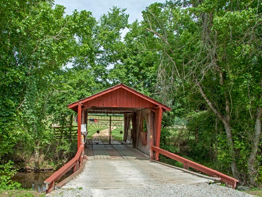 Singer-songwriter John Hiatt's Leiper's Fork property, known as Covered Bridge Farm, was listed for $2.69 million in 2015. Previous owner Jim Leeson purchased the bridge in New England in the early 1960s, transported it to the farm and reconstructed it on the site.