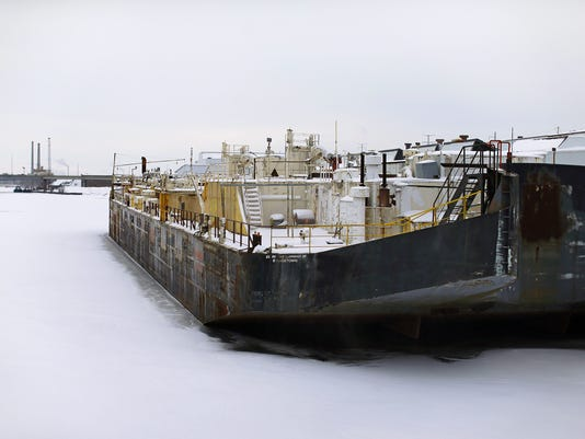 GPG ES St. Mary Cement barge 1.27.16