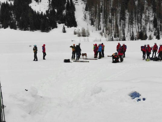 EPA ITALY AVALANCHE DIS DISASTERS (GENERAL) ITA
