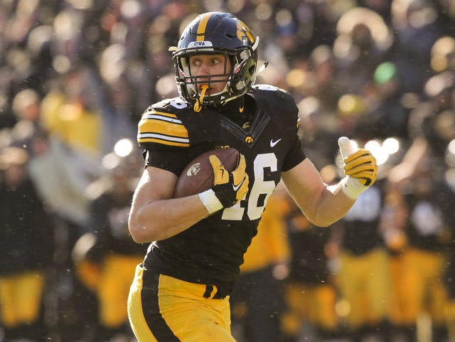 the latest 4ecfd b449b As Iowa TE George Kittle fills out, he hopes to fill up stat ...