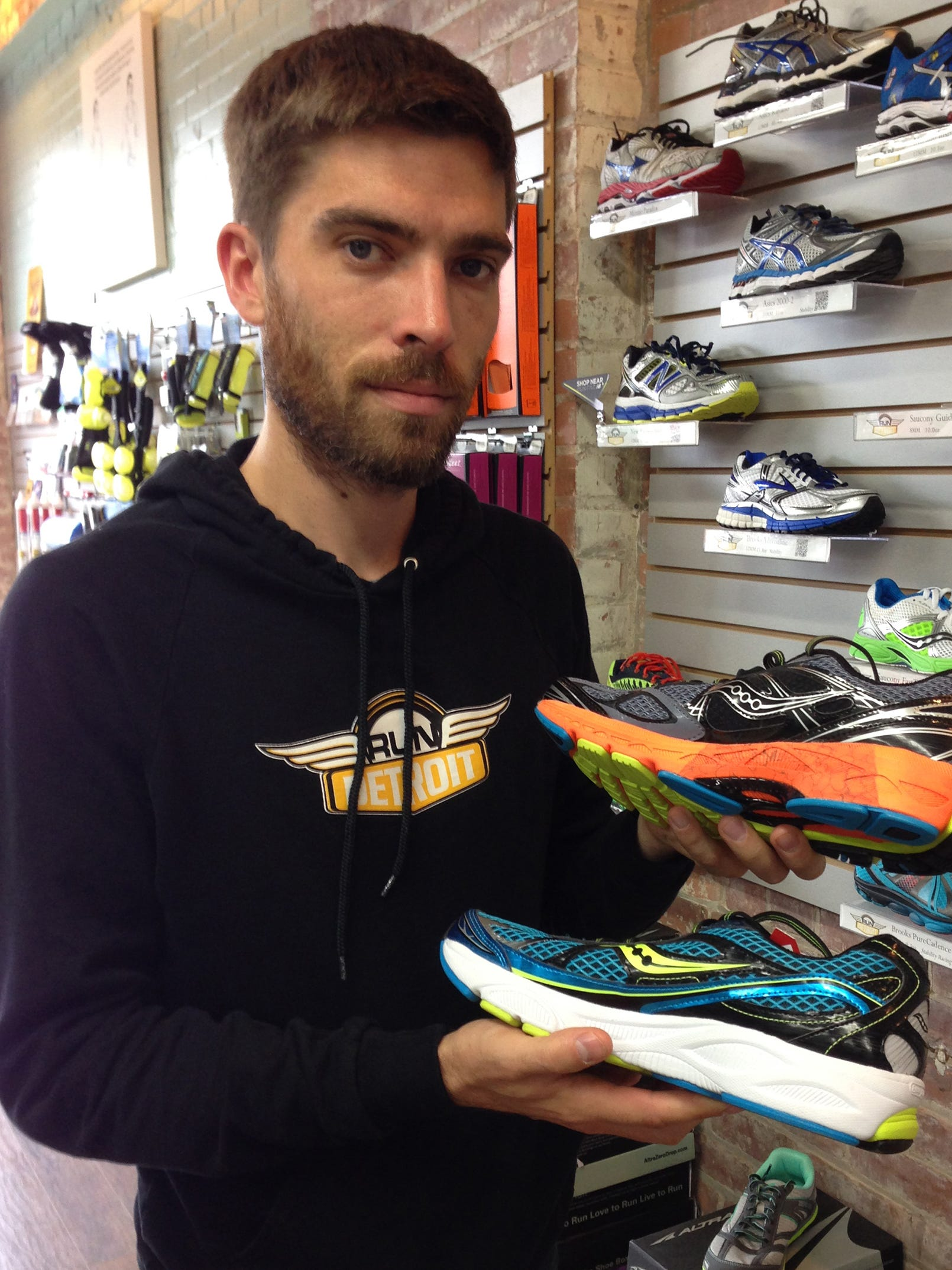 Why running shoes matter