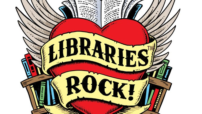 Libraries Rock is the slogan for the Summer 2018 public library program.