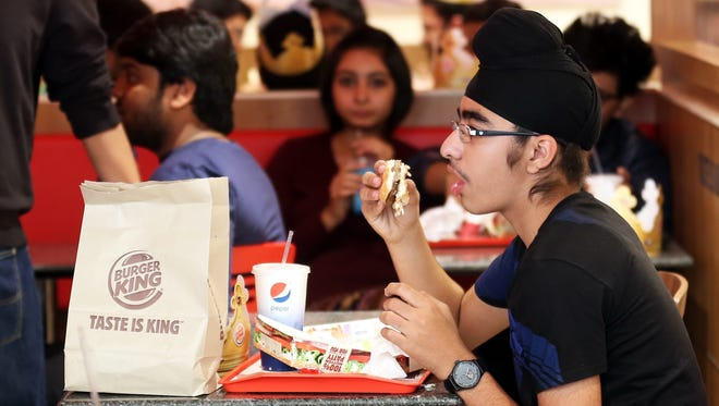 Burgers at food retail giants will be taxed in Kerala as part of the state's new 'fat tax.'