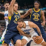 Pacers' Bogdanovic proving he knows a little something about playing defense