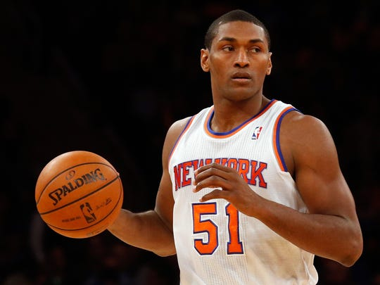 Metta World Peace hasn't played in the NBA since last season, when he played in 29 games for the New York Knicks.