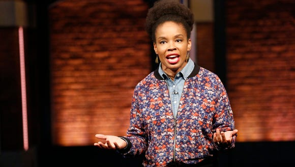 """Late Night"" writer Amber Ruffin"