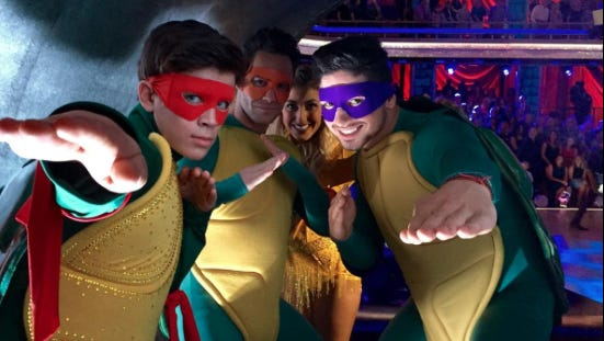 TV themes week had some 'Turtle' power.