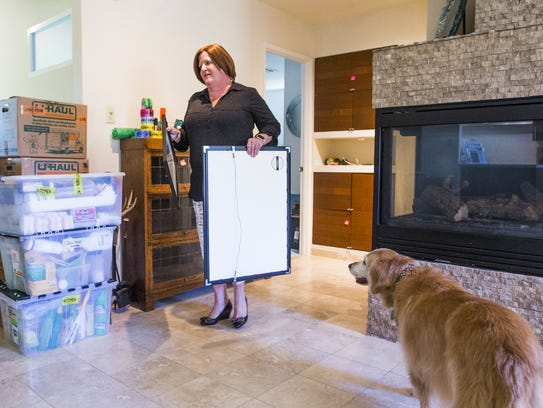 A week before the sale of Heather Murphy's home was