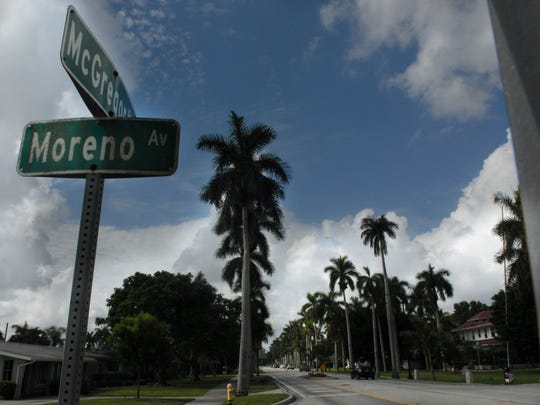 The benefit of McGregor Boulevard to Fort Myers cannot