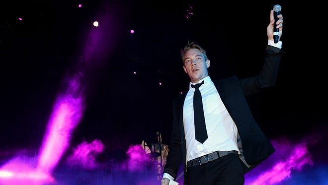 DJ/producer Diplo of Major Lazer performs at the 17th annual Electric Daisy Carnival at Las Vegas Motor Speedway on June 23, 2013, in Las Vegas.