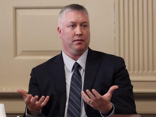 Morris County Prosecutor's Sgt. Christopher Then testifies