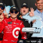 NASCAR Pure Michigan 400: Kyle Larson wins third straight race at MIS