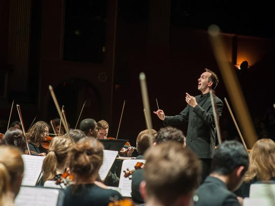 MSU Choirs and Symphony Orchestra will be directed by guest conductor, Christopher James Lees.