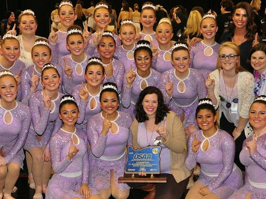 South Albany High School Southern Belles and Gents took first place in their division at the OSAA State Championship dance competition.
