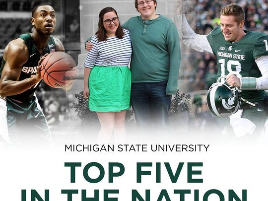 A Dec. 4 Facebook posting by MSU drew more than 9,000 likes and nearly 3,000 shares.