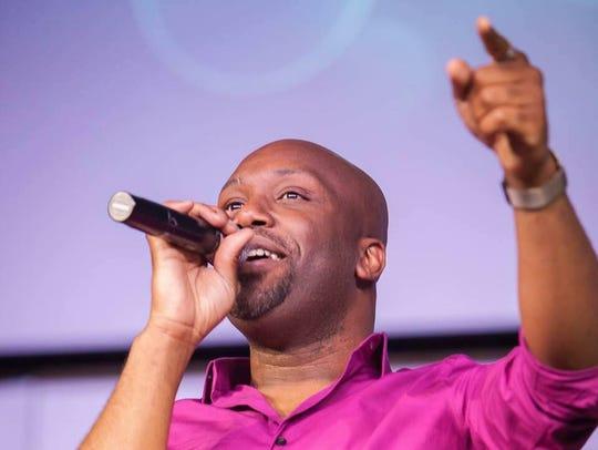 Worship director Nathan Sam of Family Life Church is