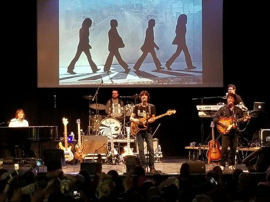 "shows. ""The Reunion—Beatles Fantasy Tribute"" performs all the traditional Beatles music, but with a twist. The show asks the audience, what would a Beetles' show be like today if all four were still living? It stars four talented musicians, including a left-handed Paul. at 7 p.m. Friday, Jan. 17."