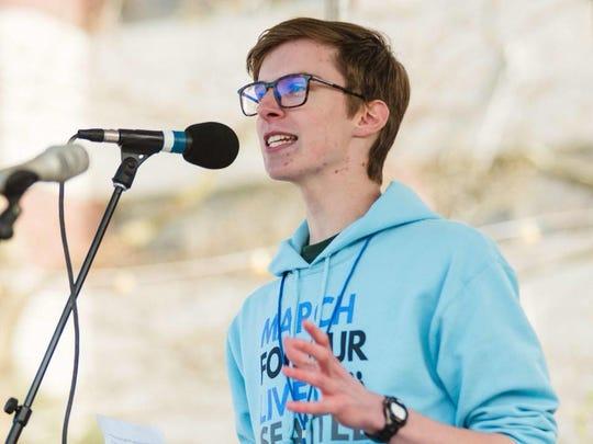 Max Weber, Bainbridge High School Class of 2018