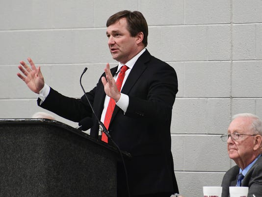 Kirby Smart Georgia coach Anderson TD club