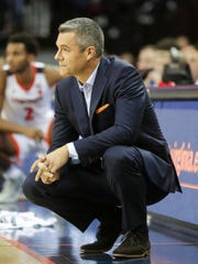 Virginia coach Tony Bennett