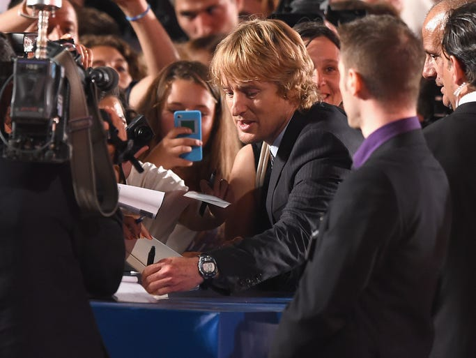 Owen Wilson attends the 'She's Funny That Way' - Premiere during the 71st Venice Film Festival on August 29, 2014 in Venice, Italy.