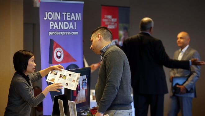 Employers and recruiters like this one added more workers in May.