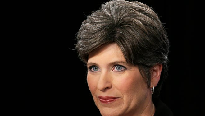Joni Ernst is the Republican Party's nominee for an open U.S. Senate seat in Iowa.