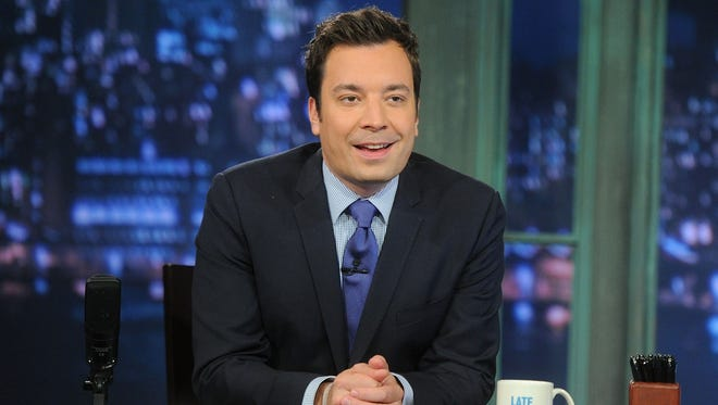 "Jimmy Fallon will take over as host of NBC's ""Tonight Show"" on Feb. 17."