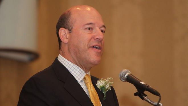 Former White House press secretary Ari Fleischer in Tarrytown in 2012.