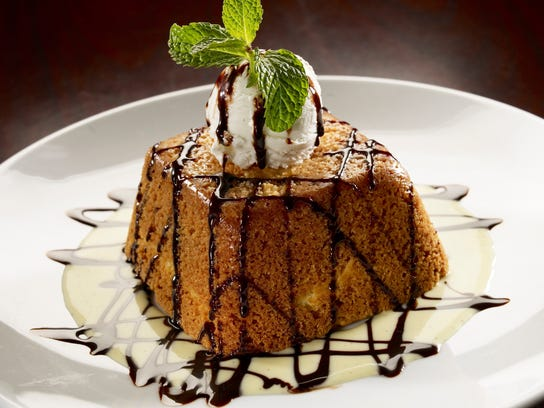 Treat Mom to a selection from Arrowhead Grill's dessert